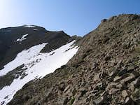 Approaching the West Summit