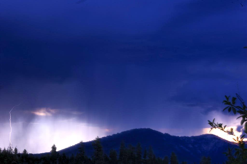 Lightning over Garden Valley