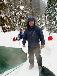 Lassen Snow Camping