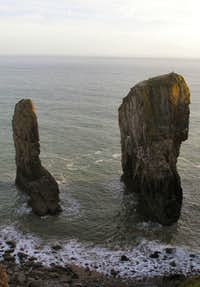 Elegug Stacks