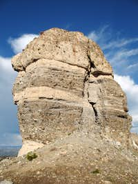 Breccia Tower on Two Ocean Mountain