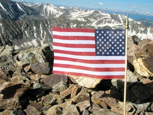 Quandary Summit Flag