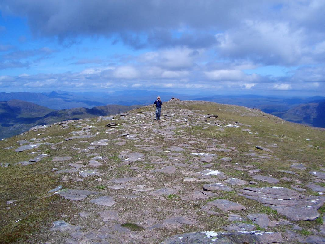 Sail Mhor summit - 767m.