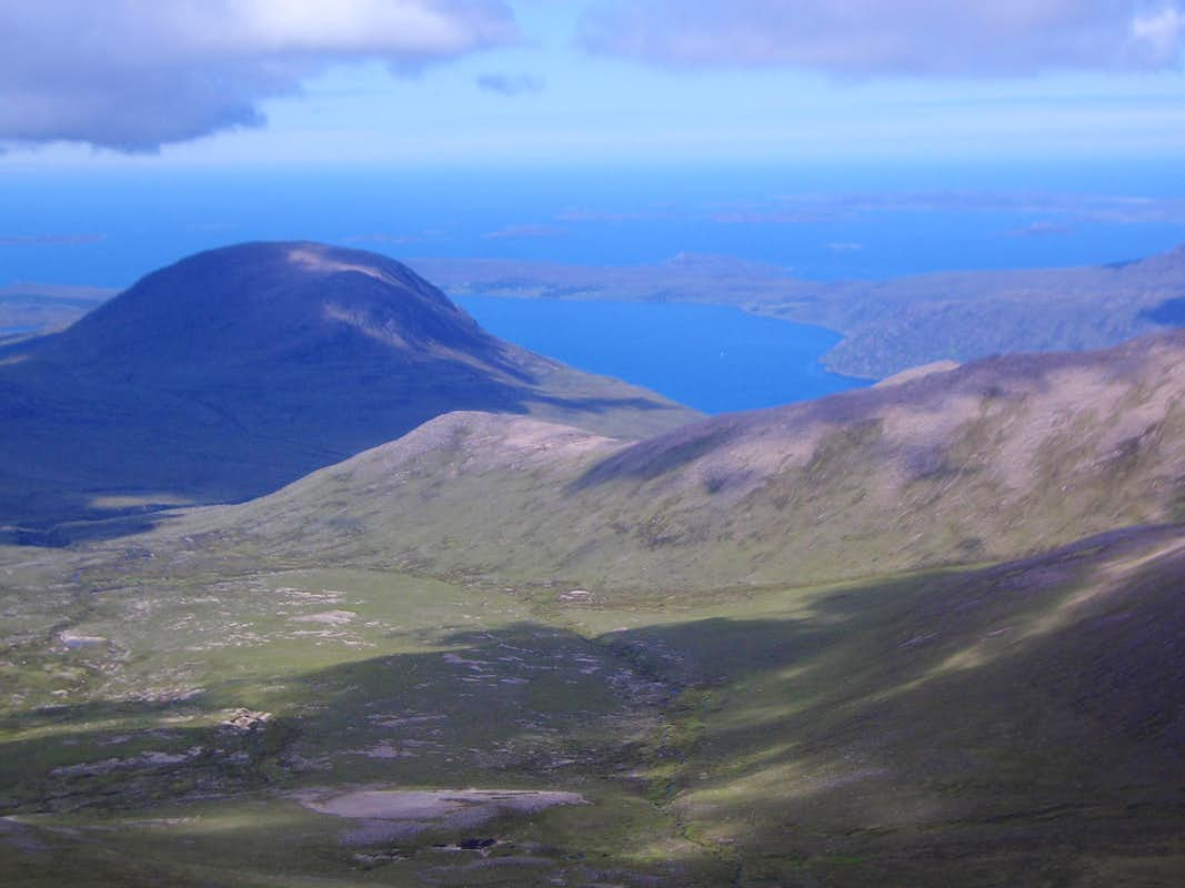Sail Mhor from Sgurr Fiona