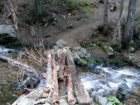 Crystal Creek crossing