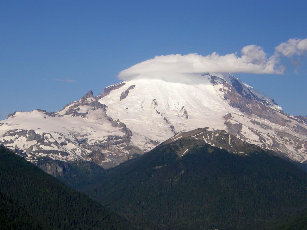 Rainer view Crystal Peak trail.