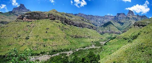 Drakensberg Amphitheater and The Sentinel