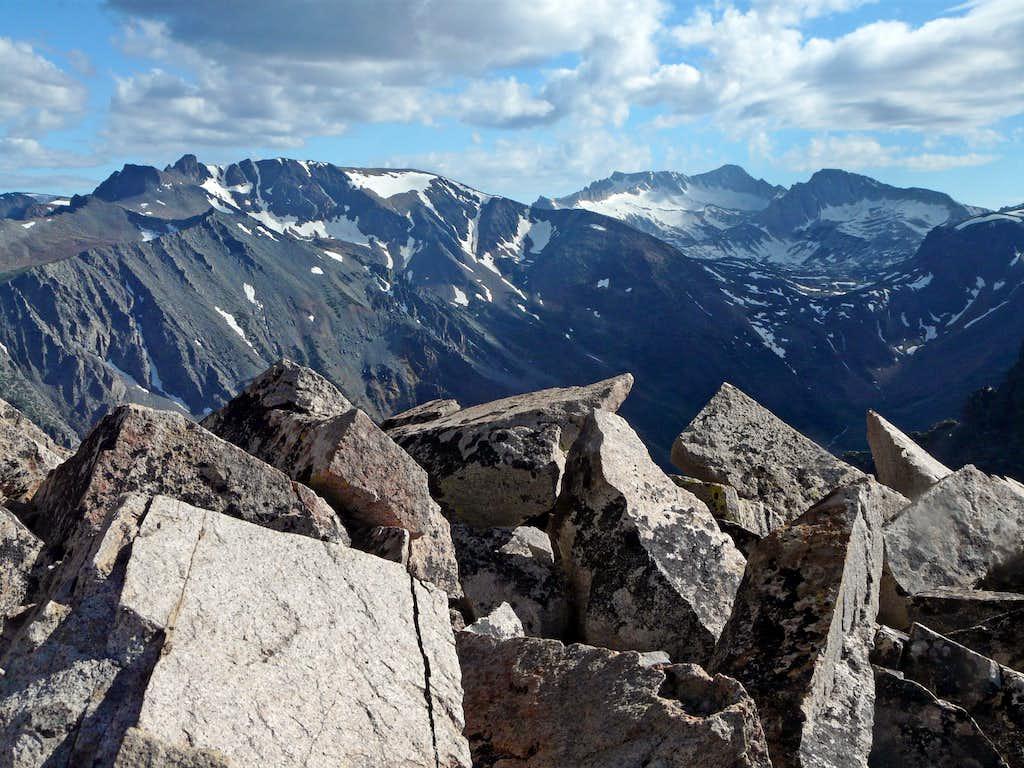 Southwest from Mt. Olsen