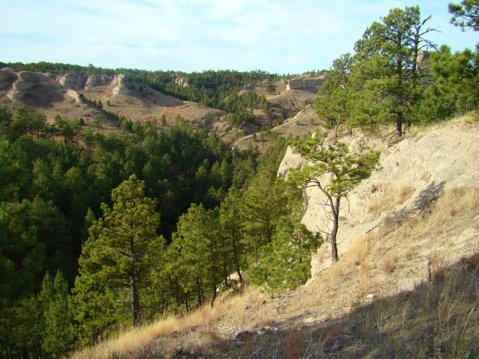 Chadron State Park Canyons & Trails