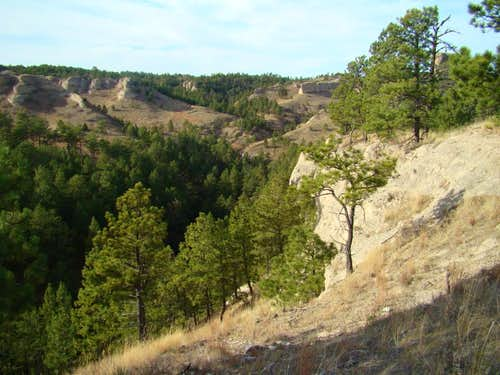 Canyons of Chadron State Park