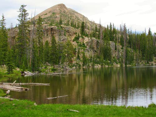 Mount Watson from Cliff Lake