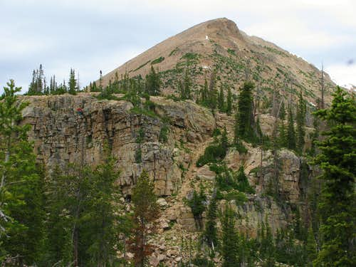 Cliff Lake Climber