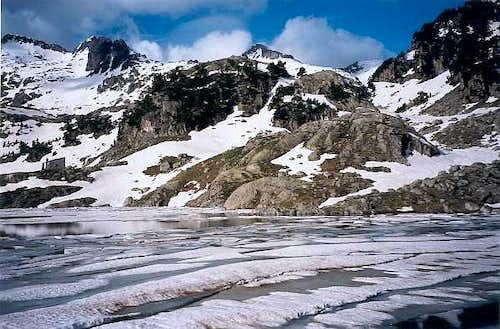 Lac Major de Colomers from the <a href=
