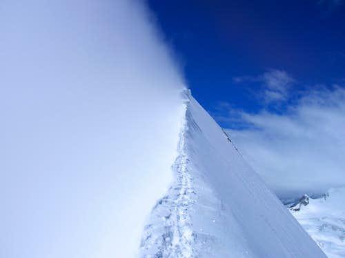 NE ridge of Aletschhorn