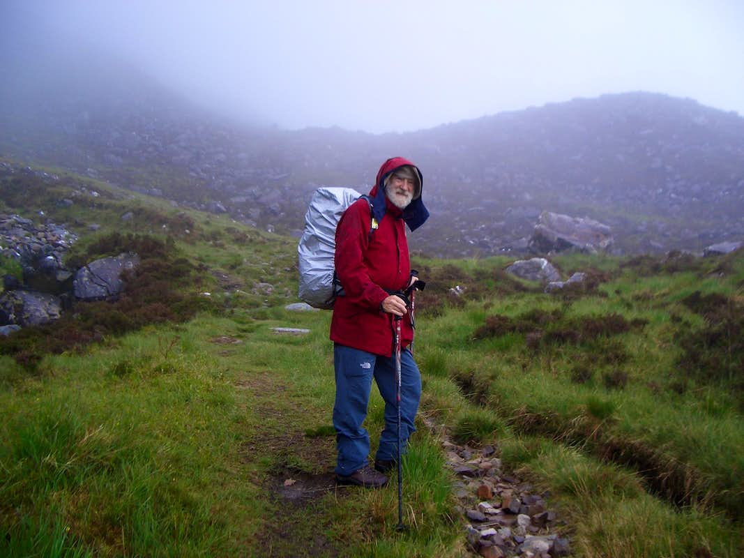On the trail to Liathach