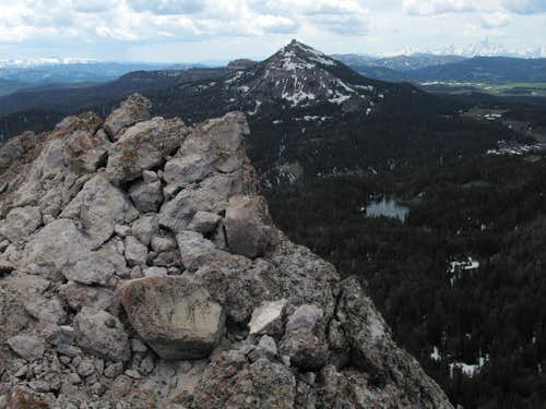 Two Ocean Mountain from Sublette Peak