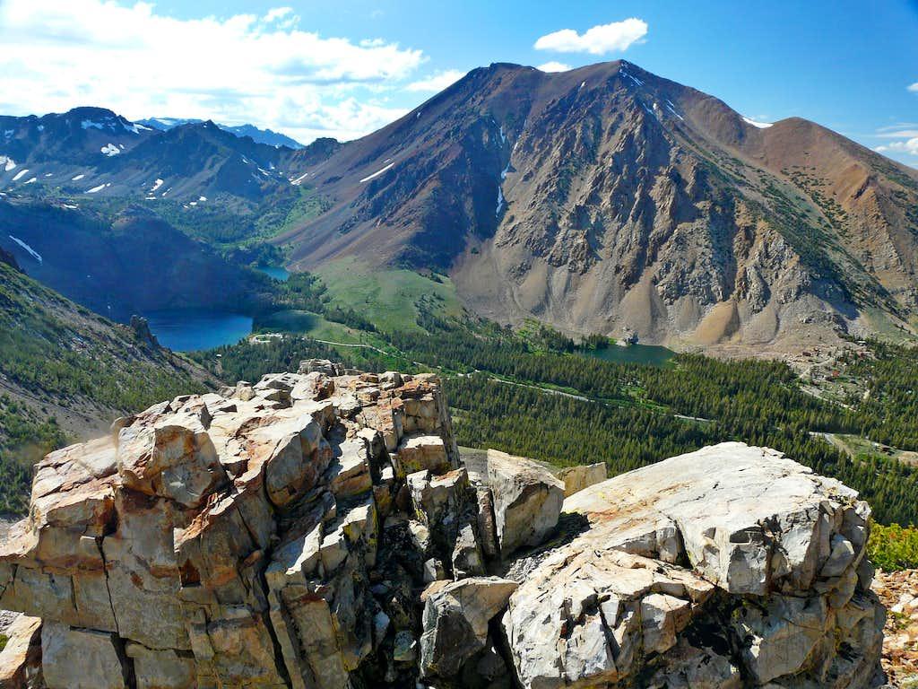 Dunderberg Peak from Mt. Olsen