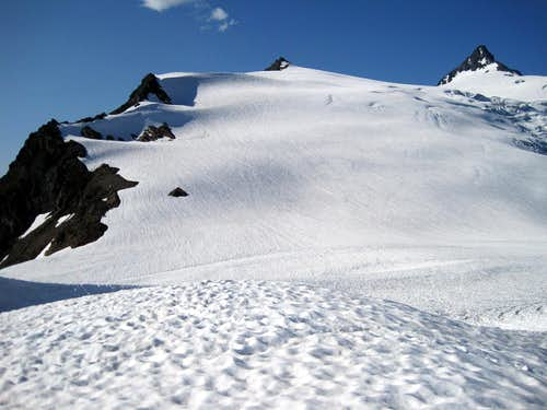 Sulphide Glacier from High Camp