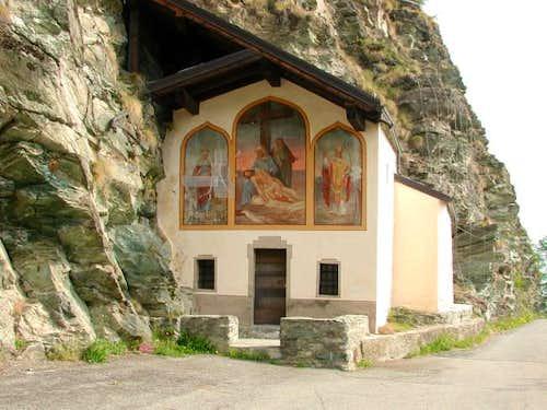 The pictoresque Ponty Chapel