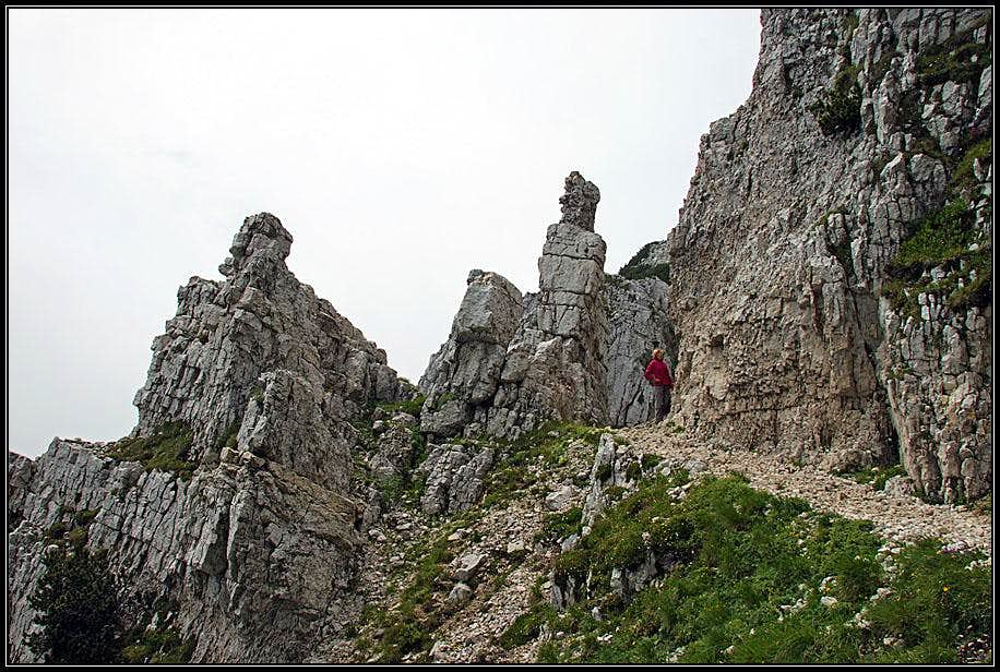 Crossing Monte Baldo