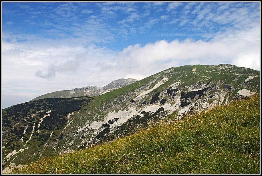 Monte Maggiore from below Coal Santo