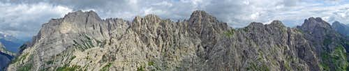 Creta di Mimoias - Summit views