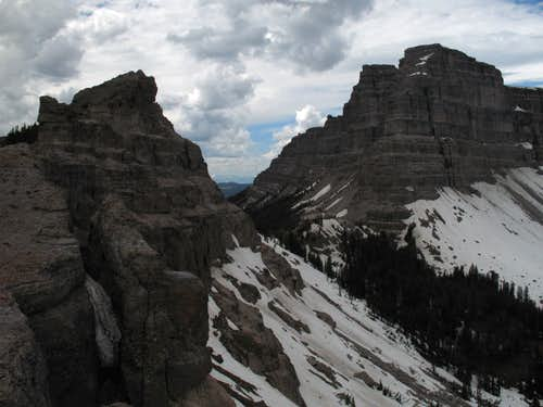 Sublette Peak and Mount Sublette