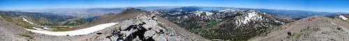 Mt Rose Summit Panorama