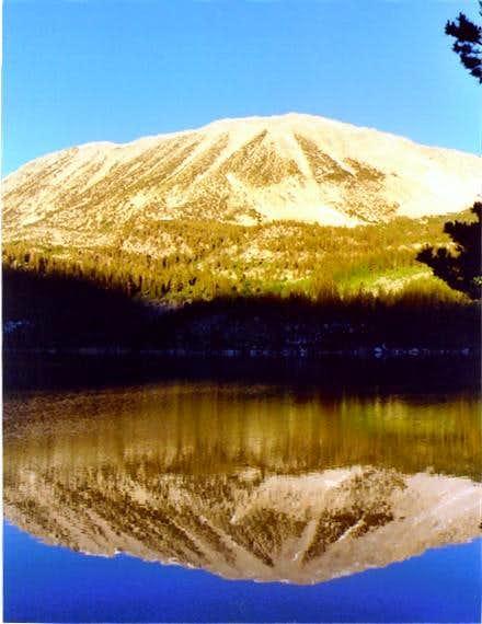 Mt. Starr from Rock Creek Lake.