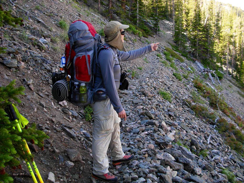 Gannett Peak Trip - Enjoying Scenery