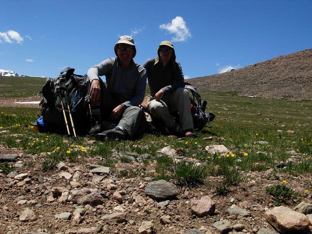 Gannett Peak Trip - Arrow Pass