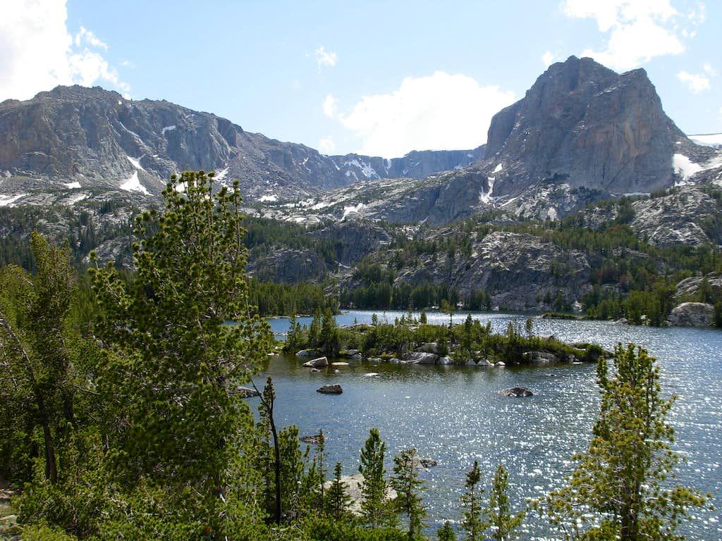 Gannett Peak Trip - Double Lake