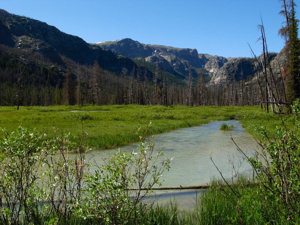 Gannett Peak Trip - Downs Fork Meadows