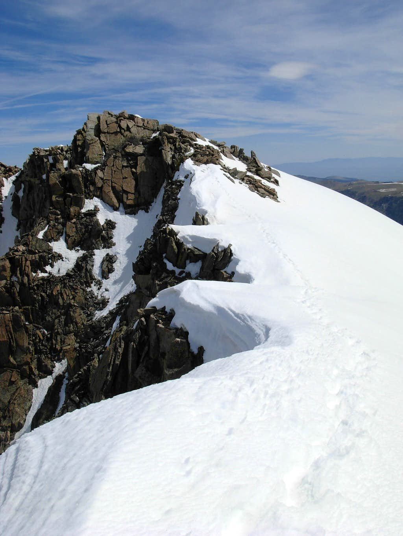Gannett Peak Trip - Summit Ridge