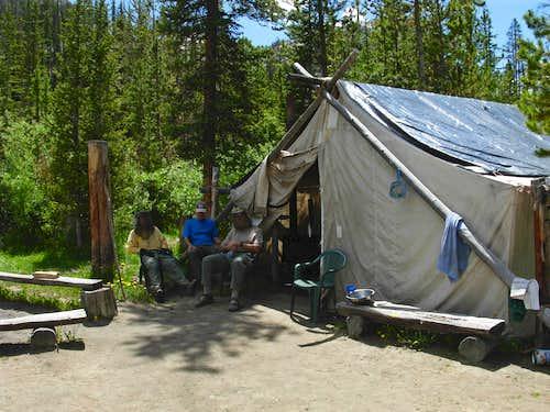 Gannett Peak Trip - Outfitter's Camp