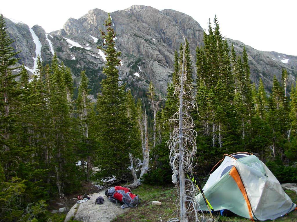 Gannett Peak Trip - High Camp