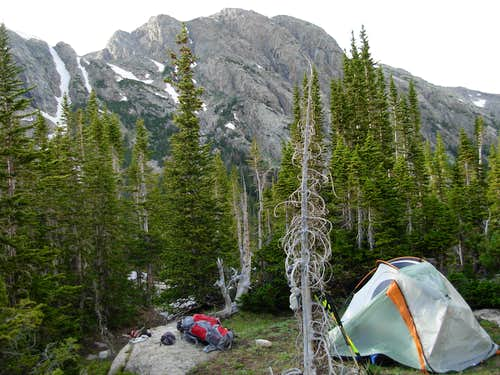 Gannett Peak Trip - High Camp