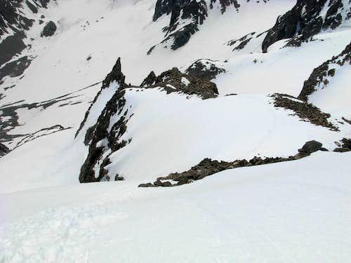 Gannett Peak Trip - Descent Route