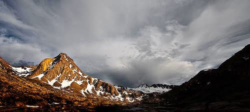 Evolution Basin and Mount Huxley