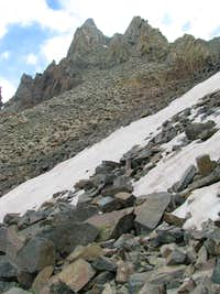 Snow Traverse on SW Ridge