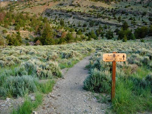 Trailhead For Glacier Trail
