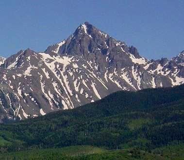 Mt Sneffels first summit of 2009