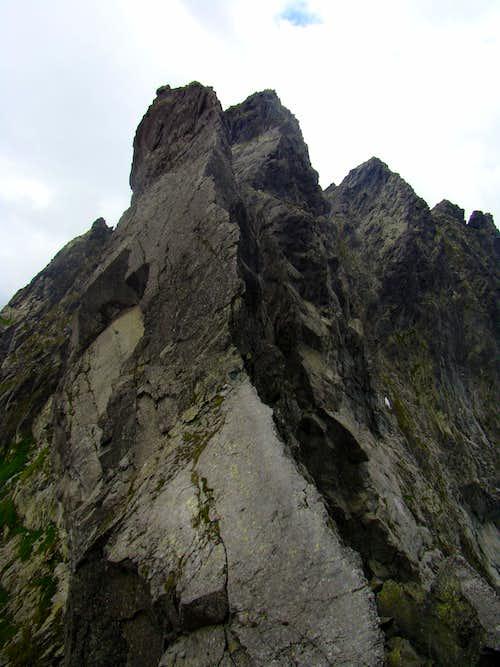East ridge of Zabi Kon