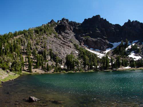 Raymond Peak from Raymond Lake