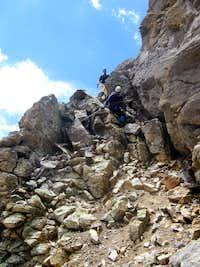 Mount Emma Scrambling