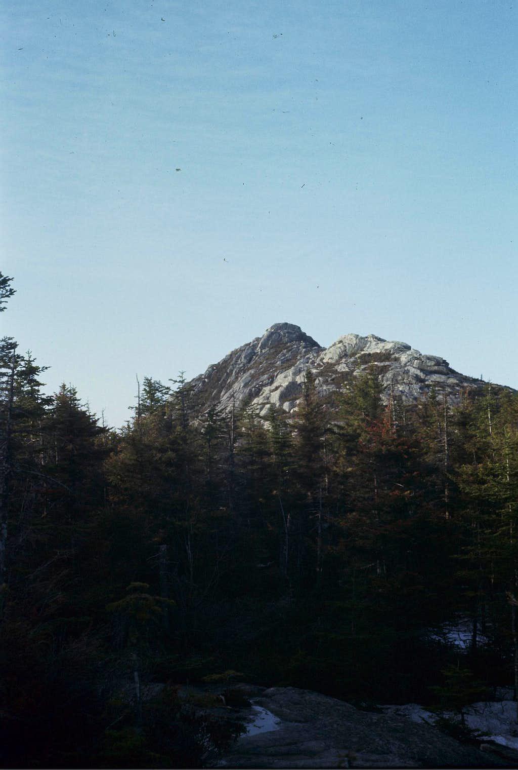 Early Morning on Mount Chocorua