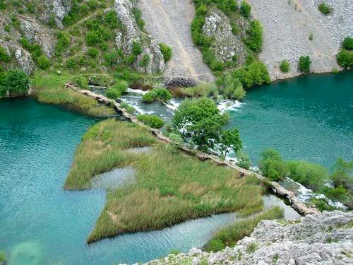 Kudin most bridge in Krupa...