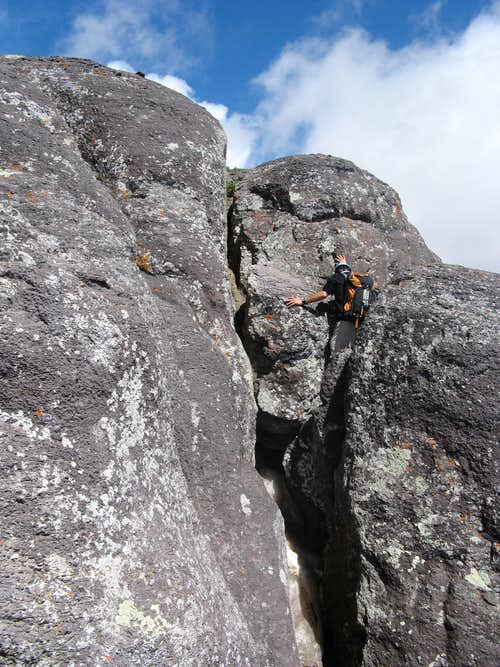 Summit Block Scrambling