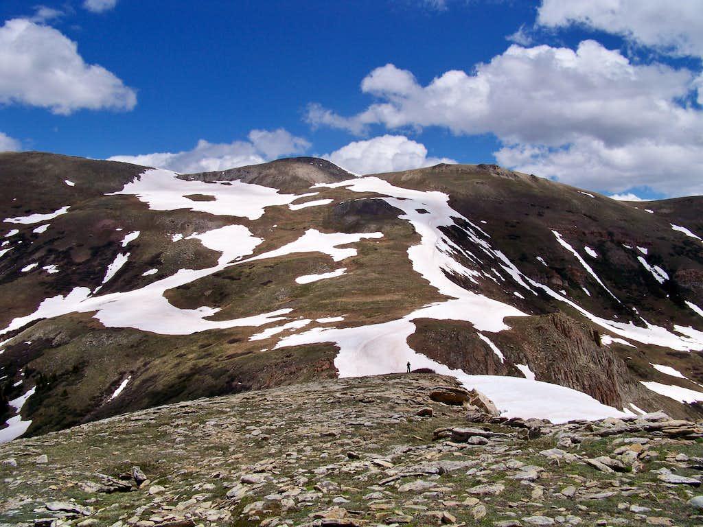 Elk Ridge from summit of Pearl Peak