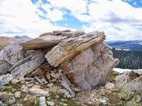 Pearl Peak Summit Outcrop